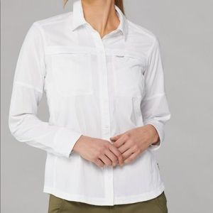 REI White Colar Dress Shirt